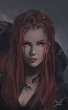 Drawn vampire dark female This  Art Find of