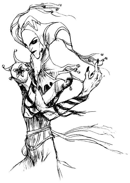 Drawn vampire darkness Artist: on deviantART by Vampire