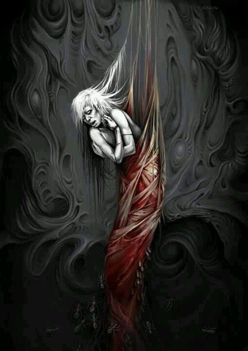 Drawn vampire darkness Vampires 271 fantasy dark art