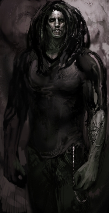 Drawn vampire darkness Concept  art Masquerade: Bloodlines