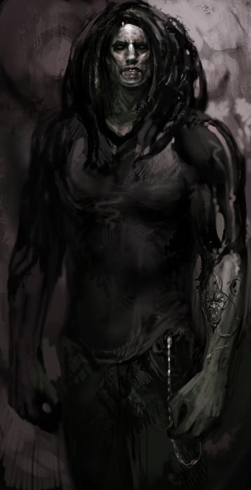 Drawn vampire darkness Concept the Masquerade:  art