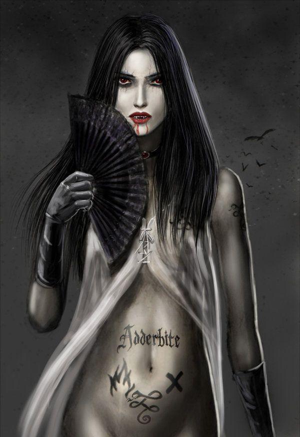 Drawn vampire darkness On best Gothic  dashinvaine