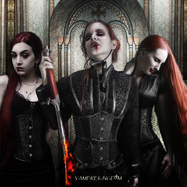 Drawn vampire deadly Journal Villenueve's · trilogy vampirekingdom