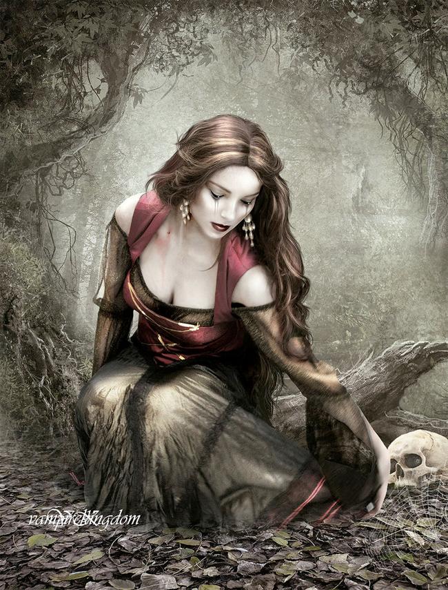 Drawn vampire deadly Anti Simple Secrets Take Nature
