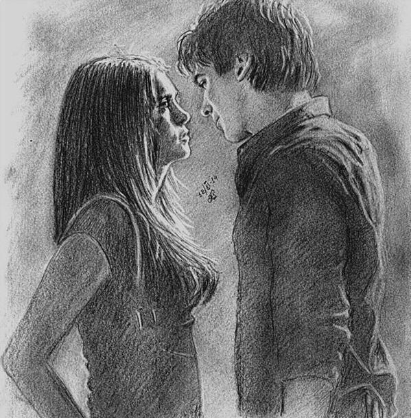 Drawn vampire delena Drawing this  course! The