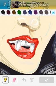 Drawn vampire draw something Vampire Draw  com drawings