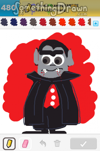 Drawn vampire draw something Vampire VAMPIRE com by on
