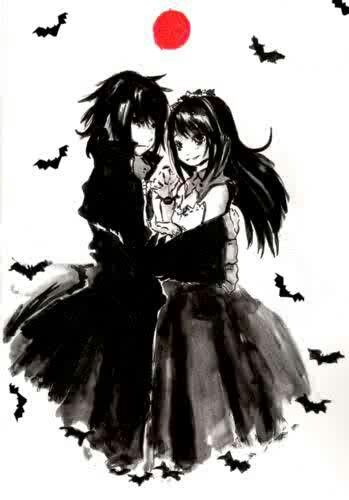 Drawn vampire emo And vampire on Find best