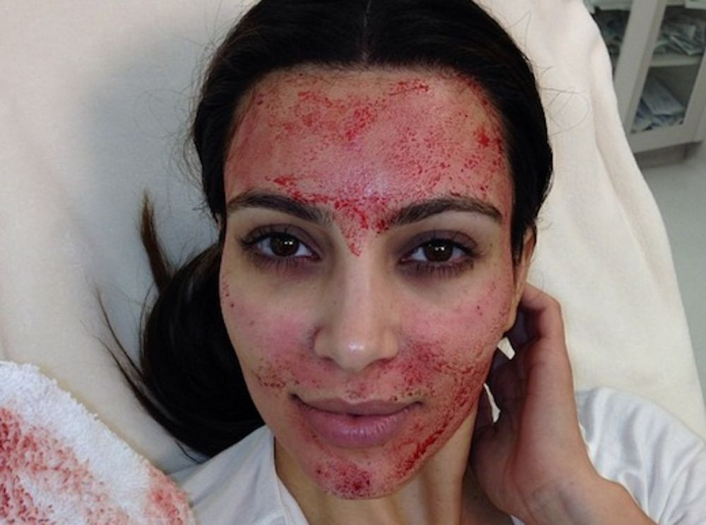 Drawn vampire face maker Getting Facials Vampire Are Celebrities