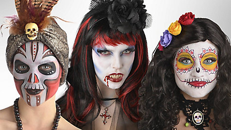 Drawn vampire face maker To's How Glamorous Makeup How