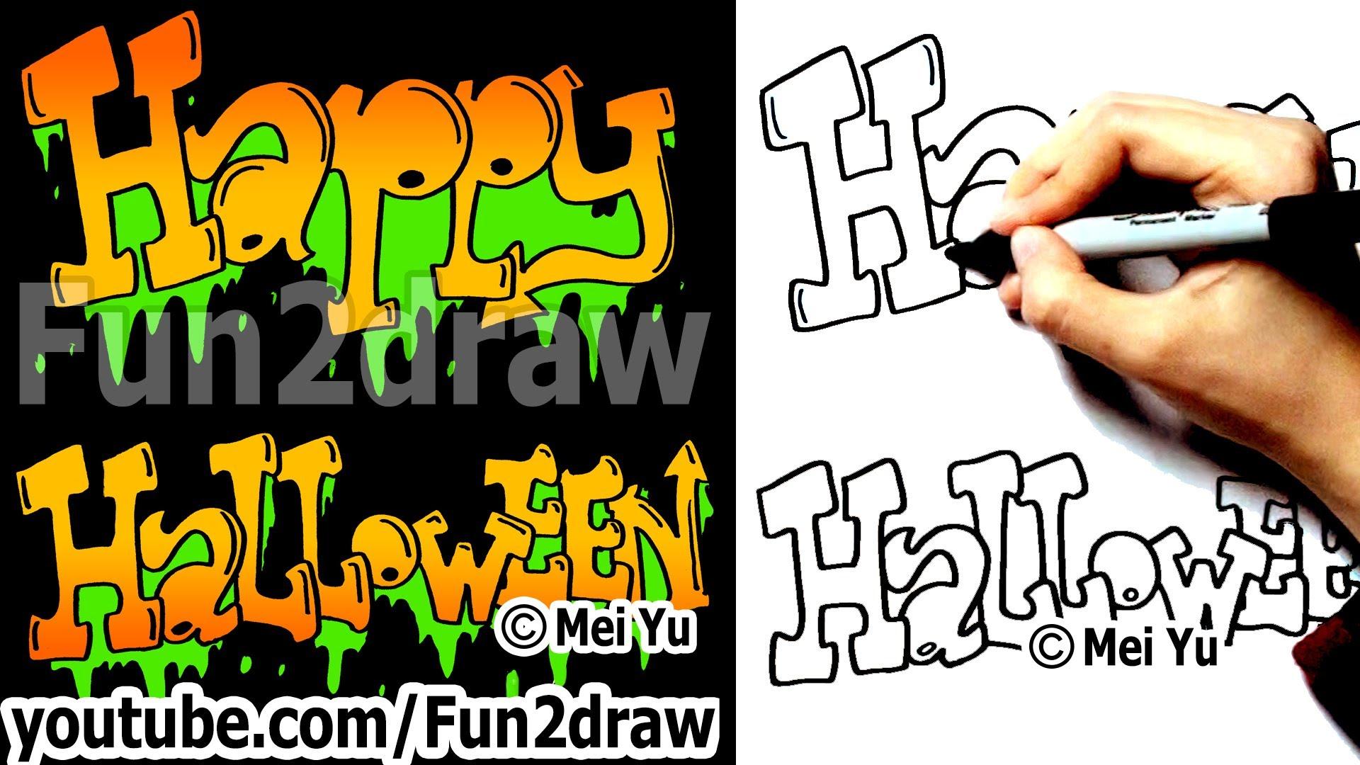 Drawn vampire graffiti Happy Things YouTube Fun Draw