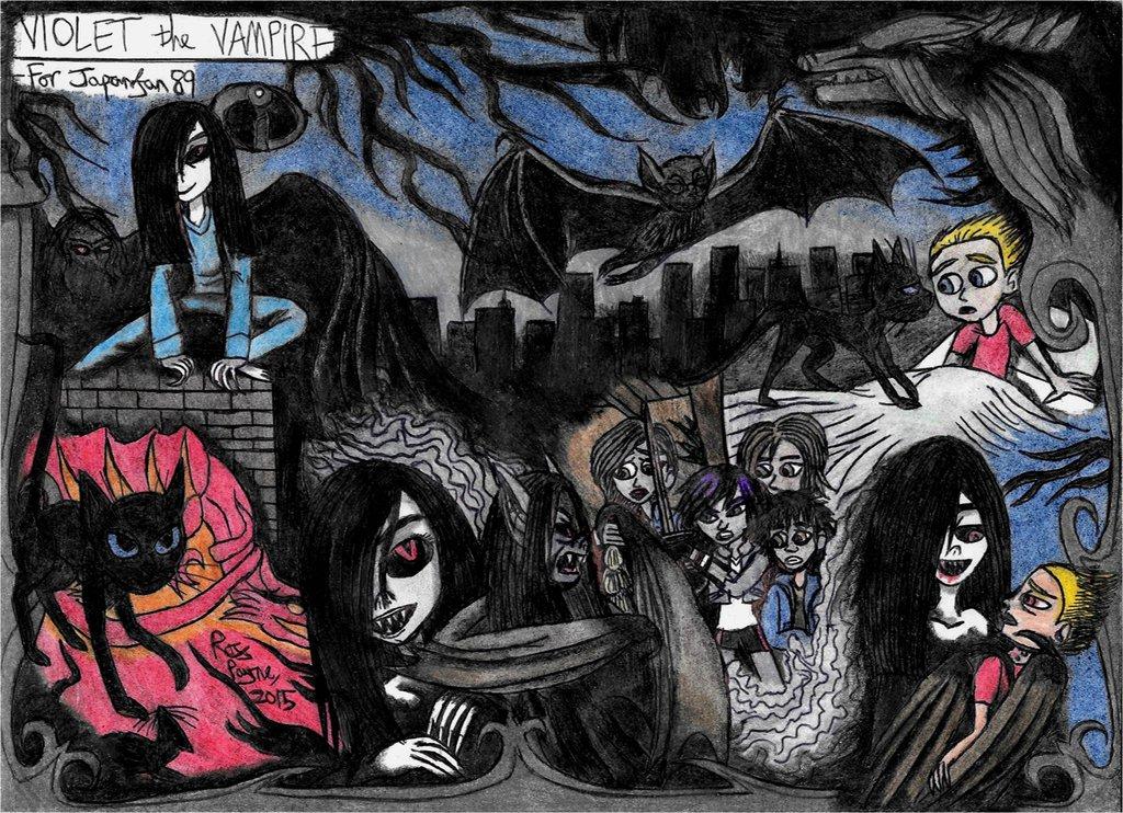 Drawn vampire graffiti Incredibles on The the Khialat