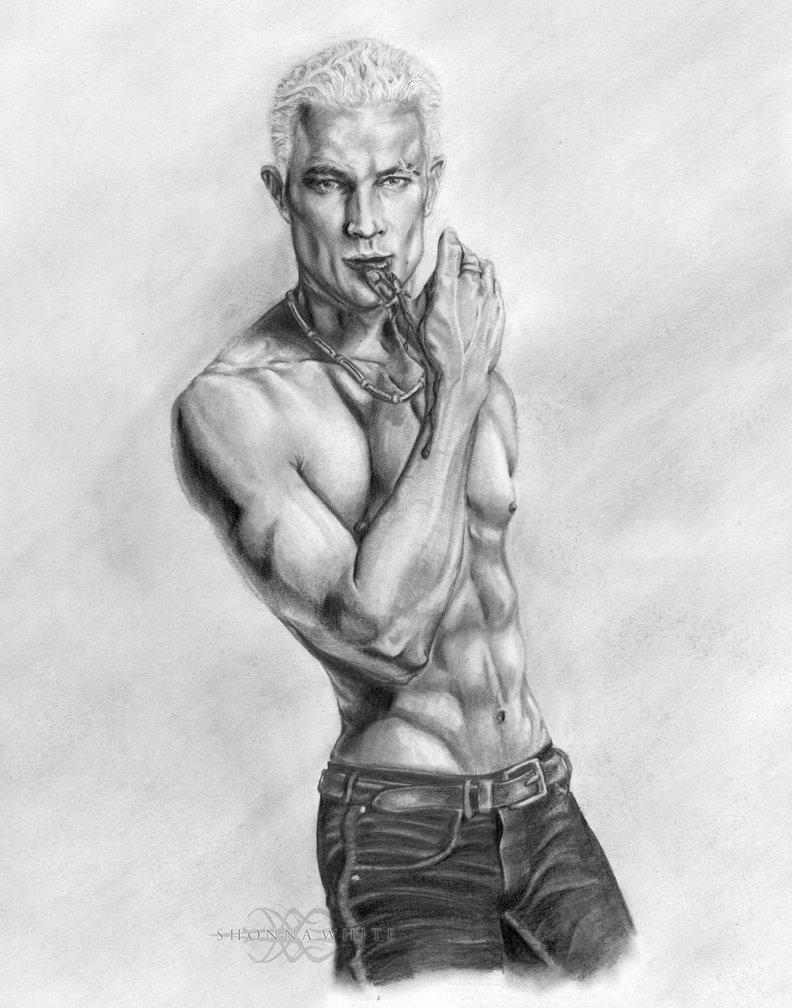 Drawn vampire hot Vampire by  James Buffy