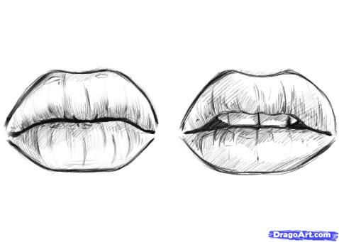 Drawn pice lip Best about to images Real