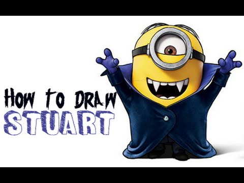 Drawn vampire logo The as How Minion and