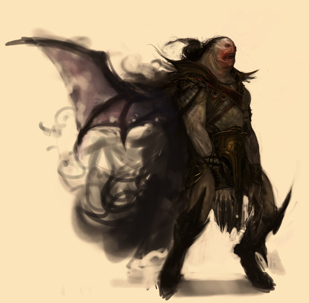 Drawn vampire monster Traditional Games 46074008 tg/