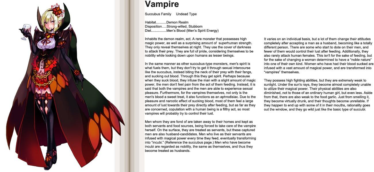 Drawn vampire monster Girl Fandom Fandom by jpg