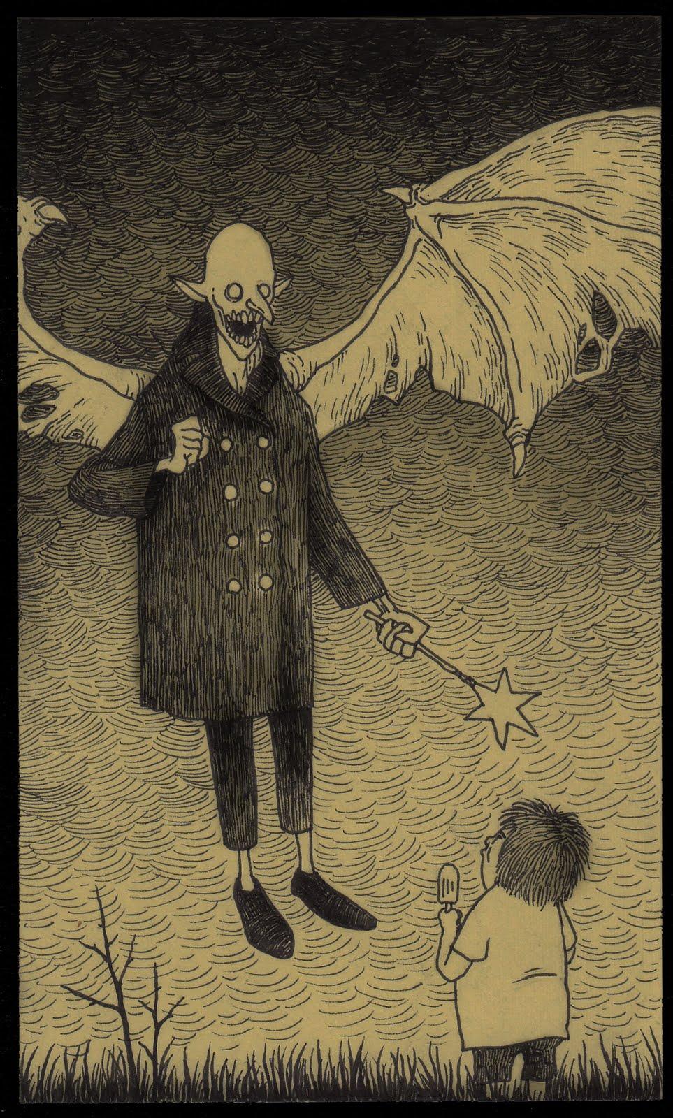 Drawn vampire monster Monsters and Kenn Pinterest about