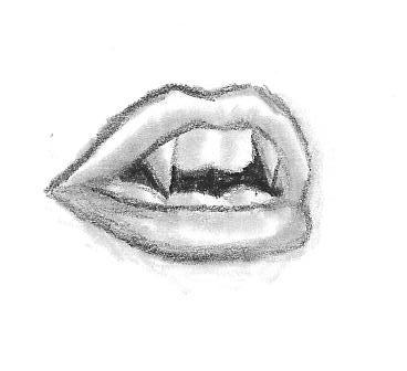 Drawn vampire pencil drawing  Vampire the and Take