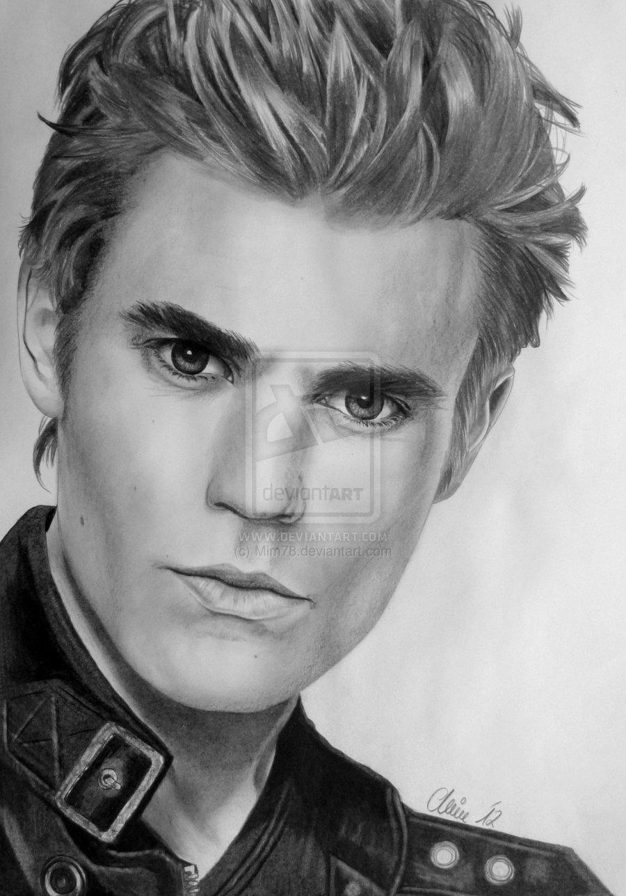 Drawn vampire pencil drawing Diaries DrawingsDrawings Wesley by deviantart