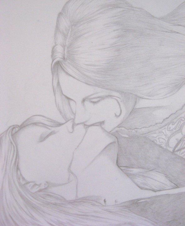 Drawn vampire pencil drawing Women Women drawing drawing DesJnr