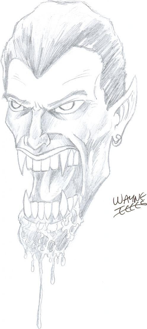 Drawn vampire pencil drawing Drawings Pencil Ways Draw in