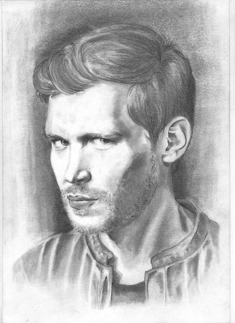 Drawn vampire pencil drawing Pinterest Vampire and more! Mikaelson
