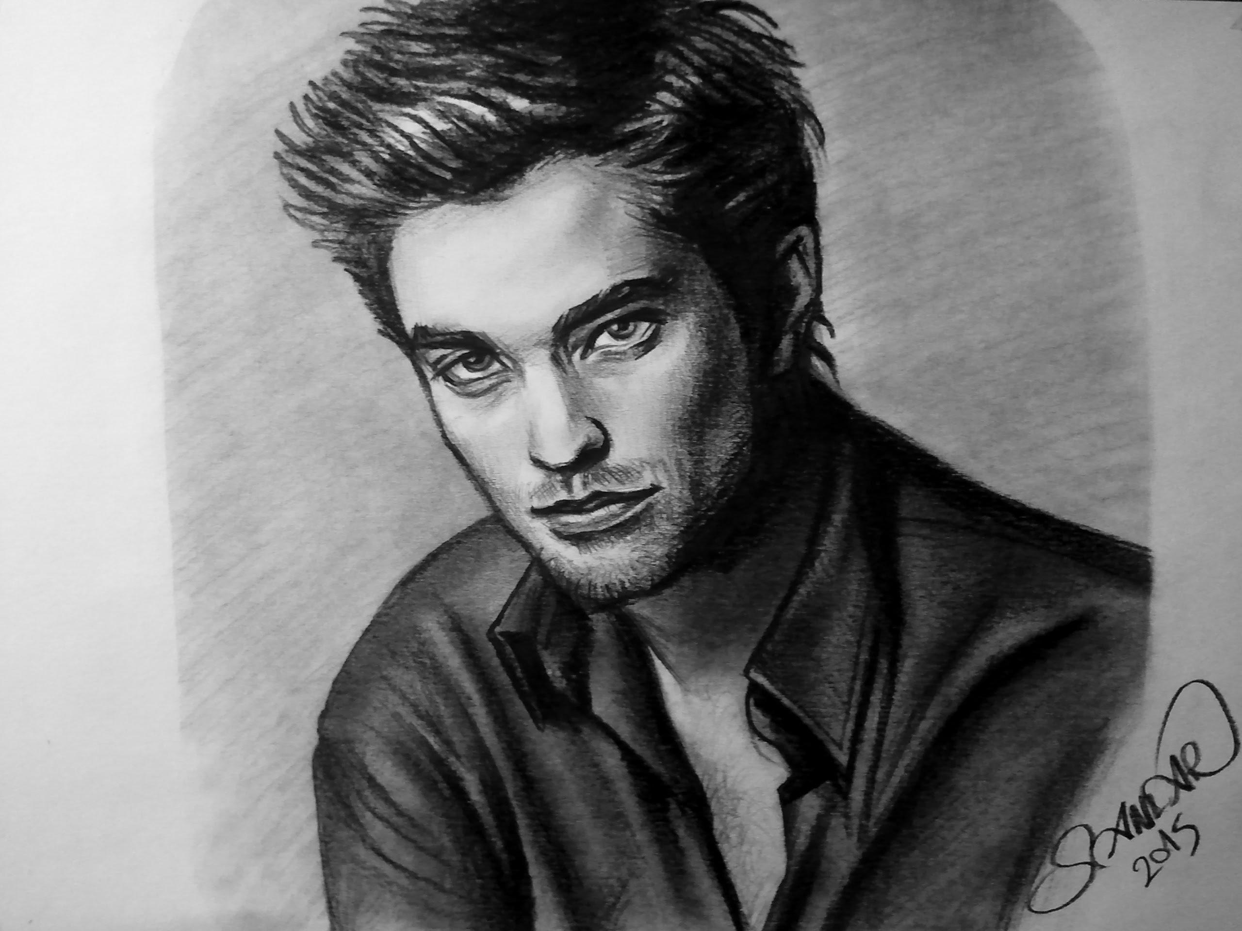 Drawn vampire robert pattinson Drawing Drawing Pattinson Robert Robert