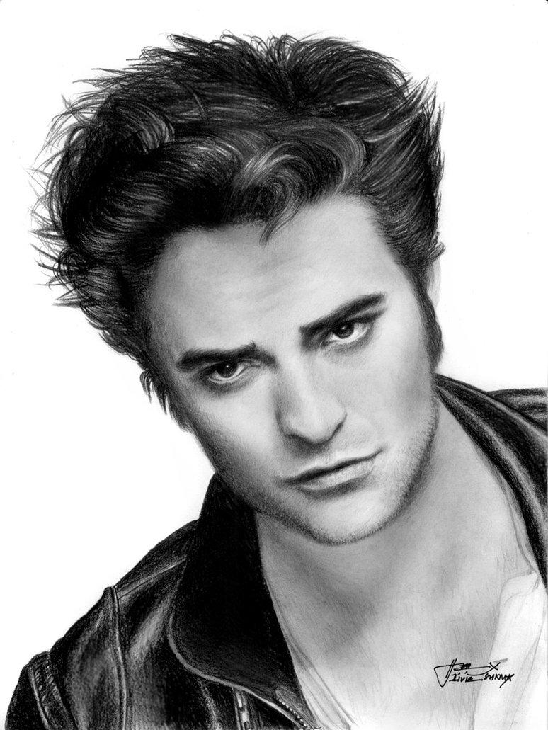Drawn vampire robert pattinson Pattinson Pattinson Drawing Pencil Drawing