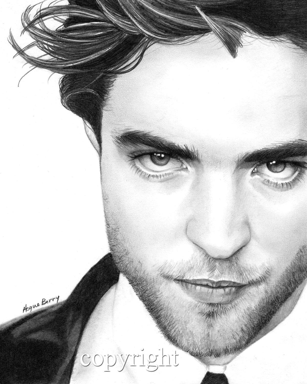 Drawn vampire robert pattinson Robert 8x10  Pattinson Edward