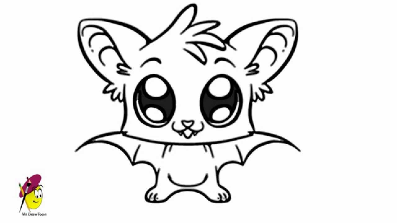 Drawn vampire simple Easy Bat Drawing Bat Drawing