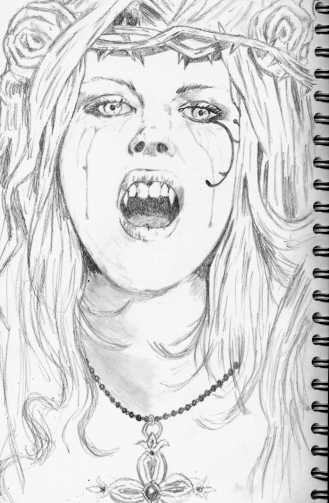 Drawn vampire sketch Victoria drawings frances madmanmanga art