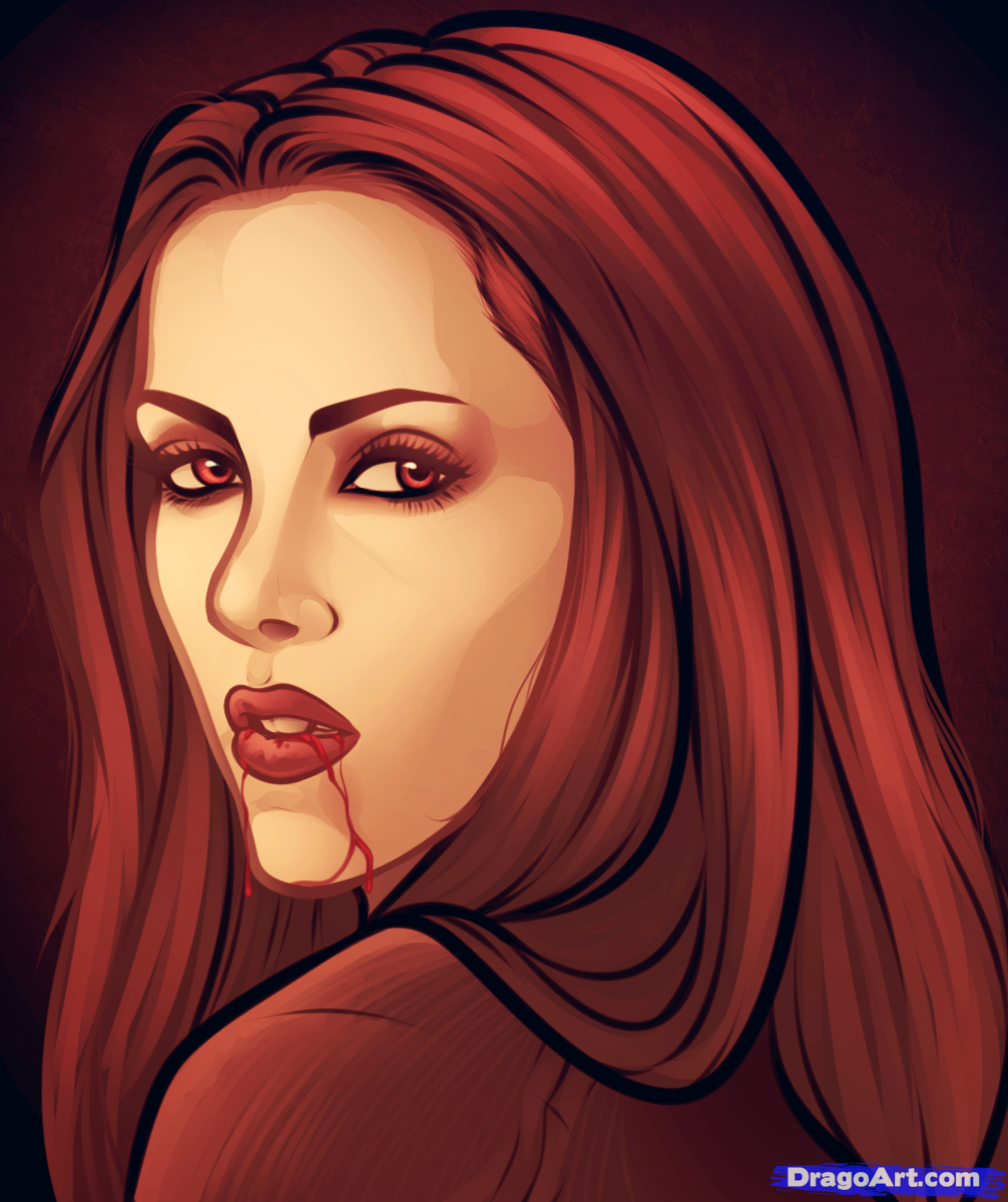 Drawn vampire sketch Vampire Draw bella twilight to