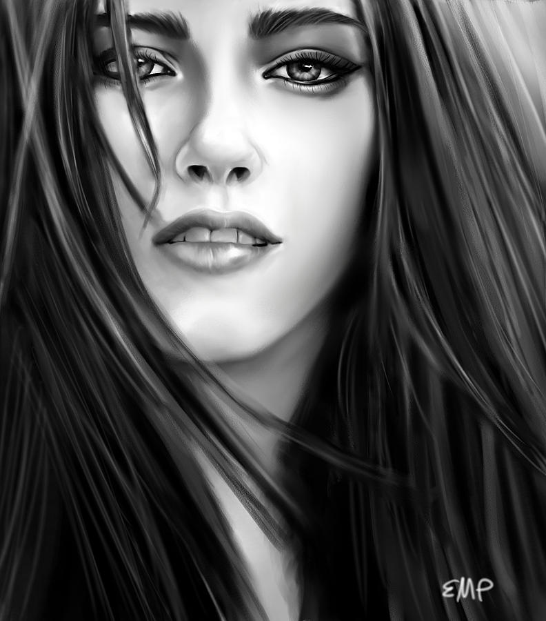 Drawn vampire twilight Pence Kristen Twilight Drawing Lisa