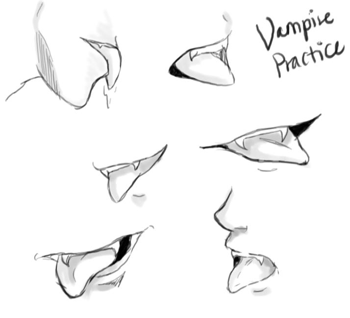 Drawn vampire vampire bite Bite DeviantArt Vampire Vampire Bite