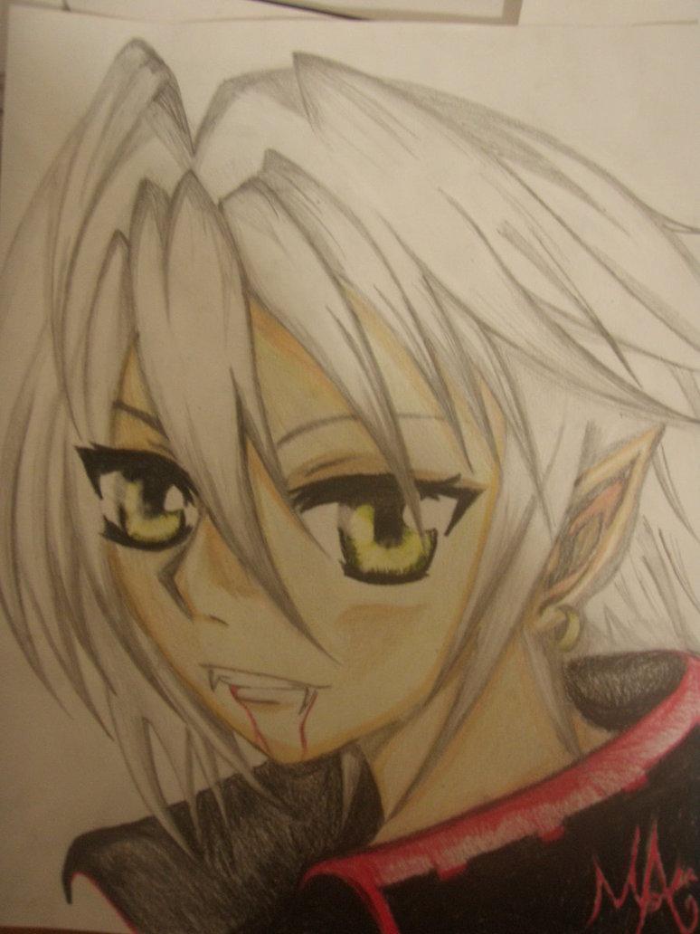 Drawn vampire vampire boy By (Boy on Girl?) DeviantArt