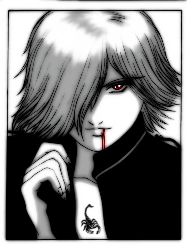 Drawn vampire vampire boy On boy sadreth sadreth by