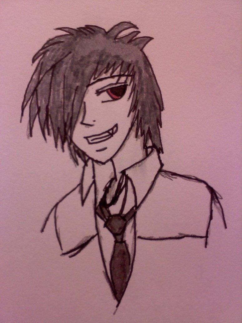 Drawn vampire vampire boy On Boy Nickspov Nickspov by