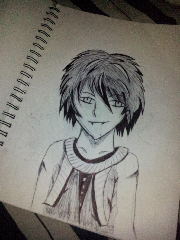 Drawn vampire vampire boy Your anime on Twincrossbones An