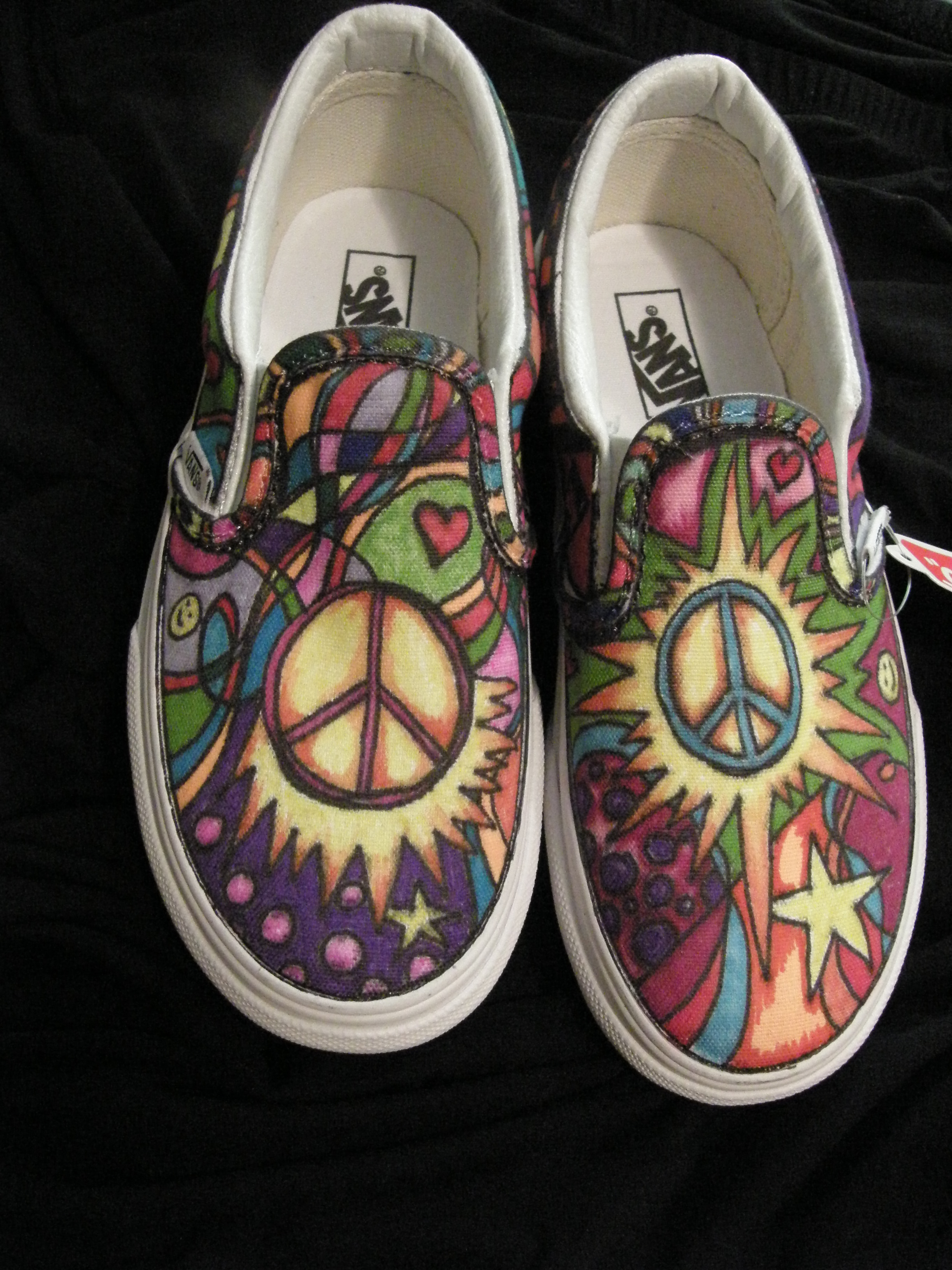 Drawn shoe van AND KEDS SHOES OF