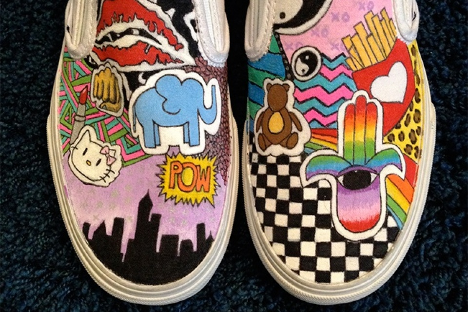 Drawn shoe van Vans Shoes drawn I drawn