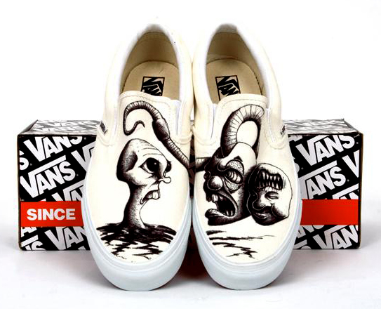 Drawn shoe van Daly Dan Coroflot Favorite H