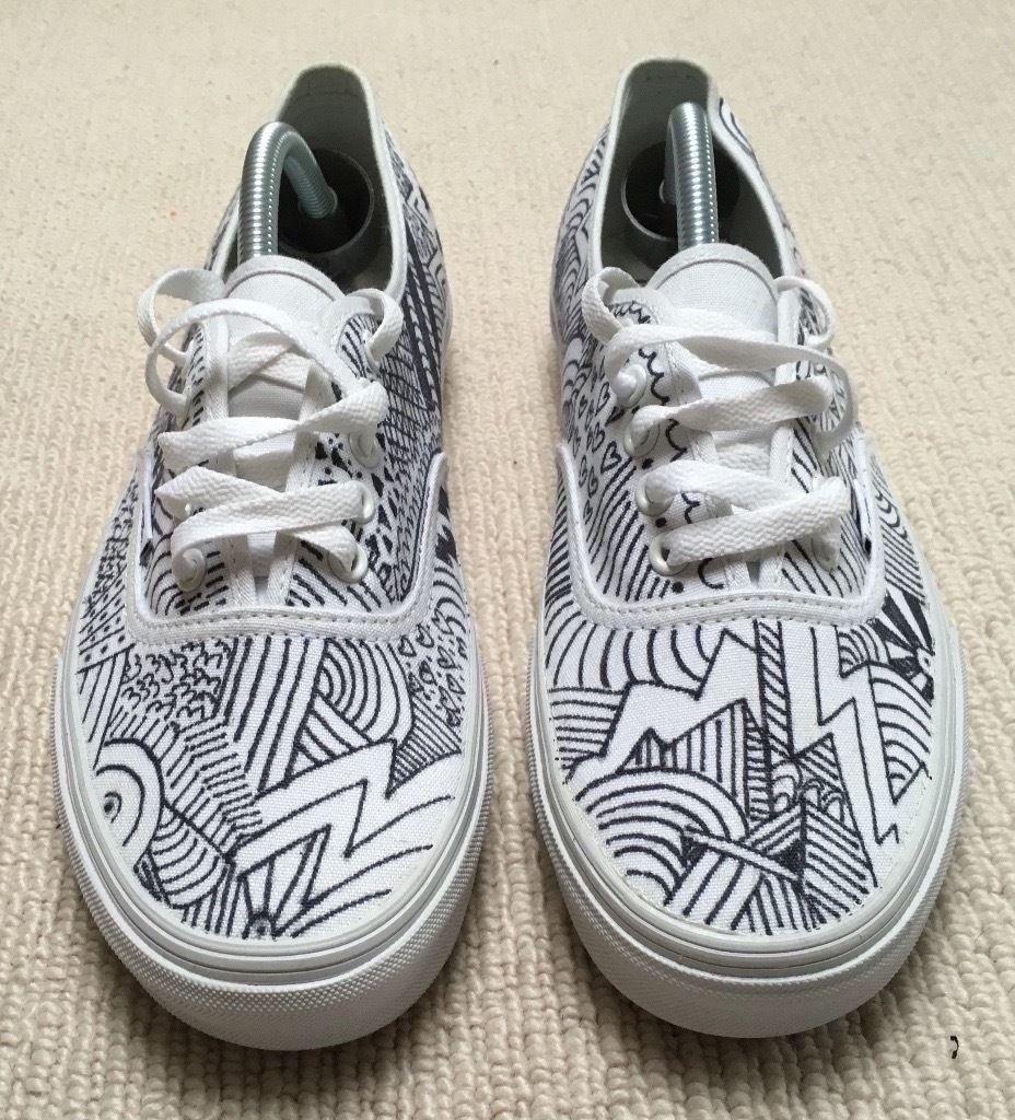 Drawn vans Hand Boost Sneakers Vans Drawn