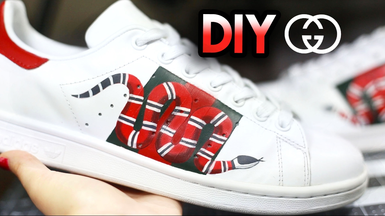 Drawn vans adidas shoe Custom Gucci How To: Drawing