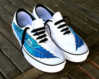 Drawn vans awesome Eagle Shoe Painted Feather Era