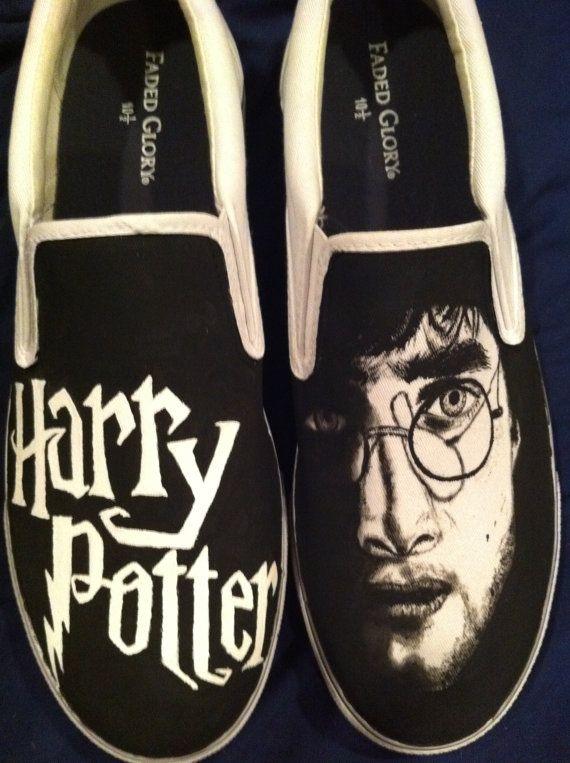 Drawn vans awesome Painted about Potter Men's images