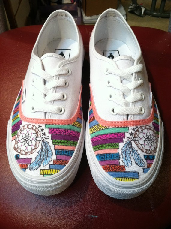 Drawn vans aztec pattern #shoes sneakers Catcher #vans #vans