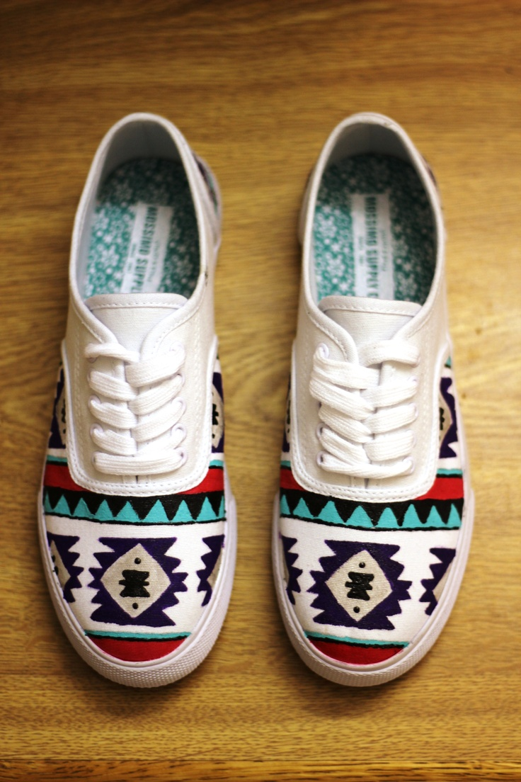 Drawn vans aztec pattern Pinterest now Best Also shoes