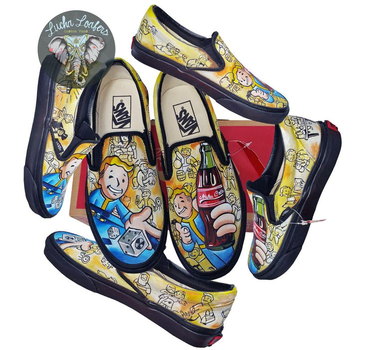 Drawn vans boy 62 Lucha Custom about images
