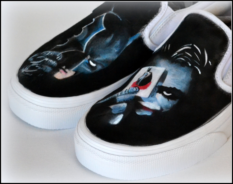 Drawn vans boy Him Gifts Shoes Gifts Superhero